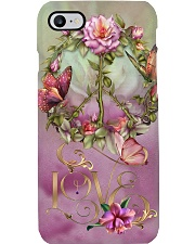 Peace - Butterfly Phone Case i-phone-8-case