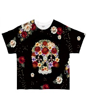 Skull Hippie All-Over T-Shirt tile