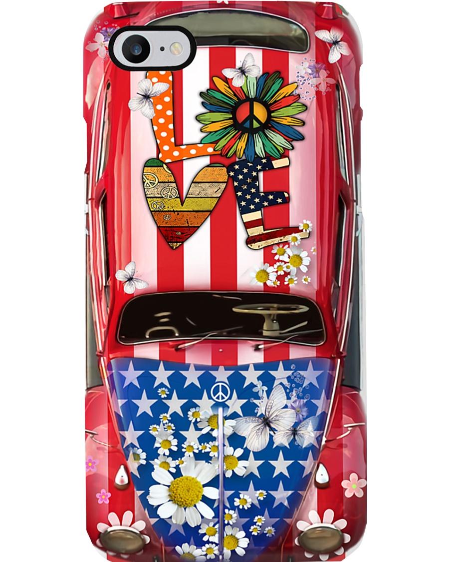 Daisy VW Bug Love Phone Case