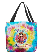 Assuming i'm just an old lady was your first mista All-over Tote thumbnail