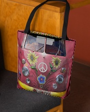Hippie VW Bug All-over Tote aos-all-over-tote-lifestyle-front-02