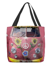 Hippie VW Bug All-over Tote back