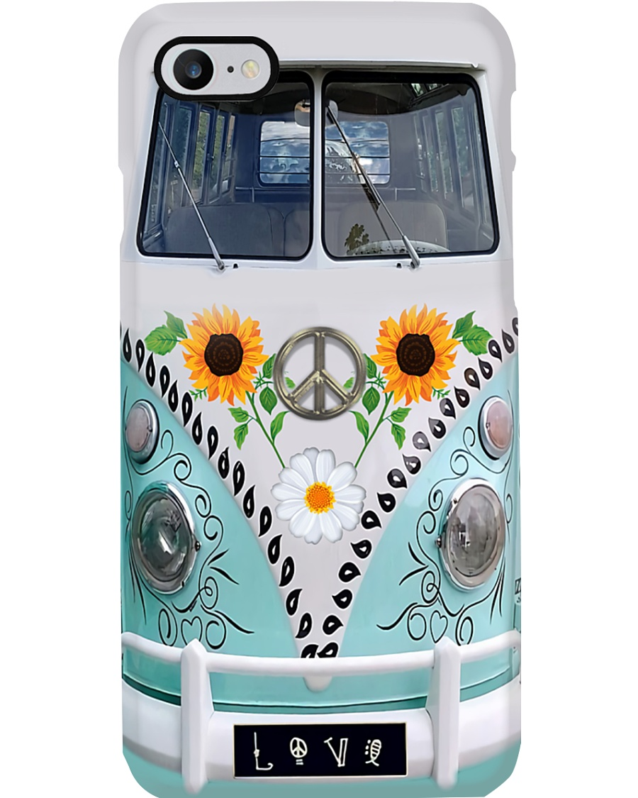 Sunflower Bus Phone Case