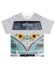 Sunflower Bus All-over T-Shirt thumbnail