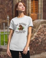 Go Outside Classic T-Shirt apparel-classic-tshirt-lifestyle-06