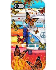Vw Bus - Butterfly Phone Case i-phone-8-case