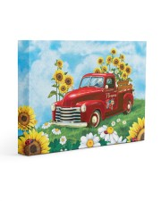 Sunflower Love 14x11 Gallery Wrapped Canvas Prints thumbnail