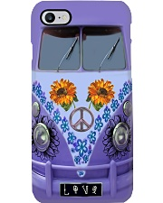 Sunflower Peace Bus Phone Case i-phone-8-case
