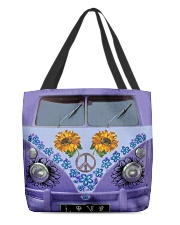 Sunflower Peace Bus All-over Tote thumbnail