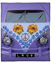 "Sunflower Peace Bus Fleece Blanket - 50"" x 60"" thumbnail"
