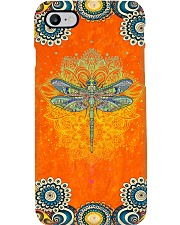 Dragonfly Art Phone Case tile