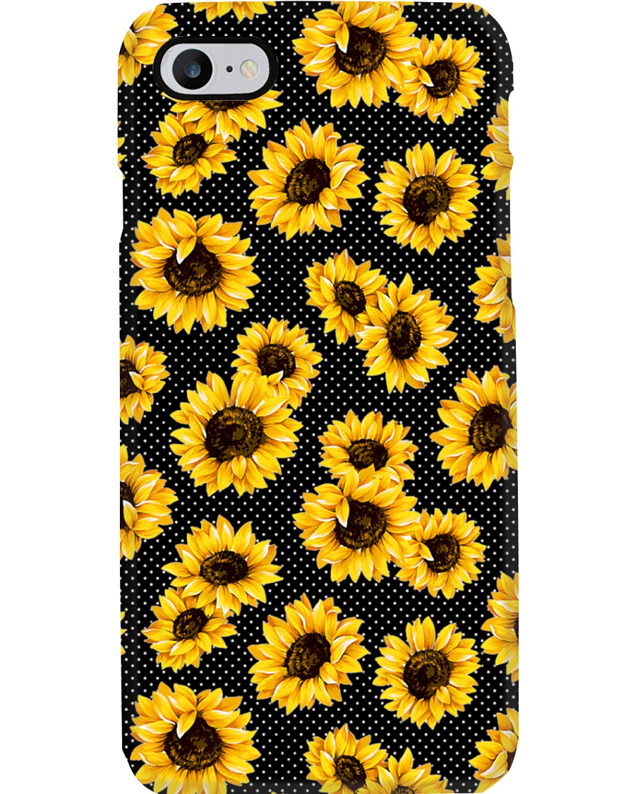 Hippie Sunflower Phone Case