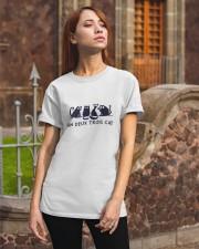 Un Deux Troil Cat Classic T-Shirt apparel-classic-tshirt-lifestyle-06