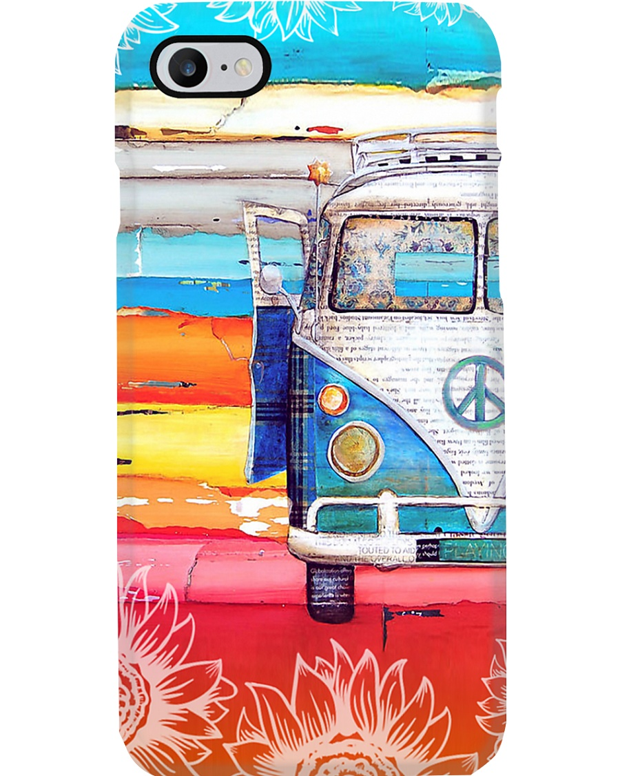 Vw Bus Sunflower Phone Case