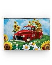 Sunflower Love Accessory Pouch - Large thumbnail