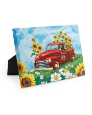 Sunflower Love 10x8 Easel-Back Gallery Wrapped Canvas thumbnail