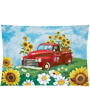 "Sunflower Love Wall Tapestry - 36"" x 26"" thumbnail"