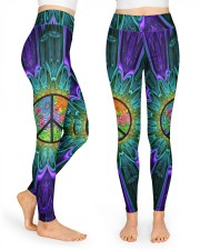 Flower Peace High Waist Leggings front
