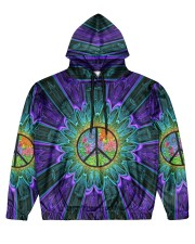 Flower Peace Men's All Over Print Hoodie thumbnail