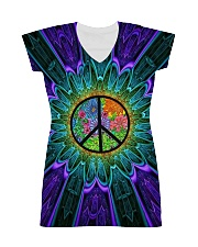 Flower Peace All-over Dress thumbnail