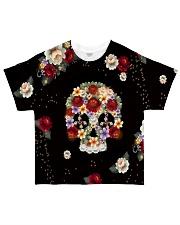 Skull Hippie All-over T-Shirt thumbnail