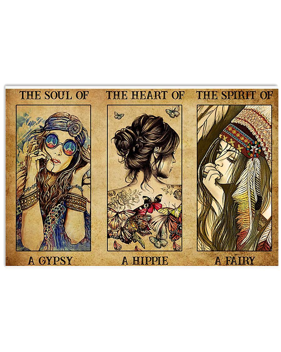 Gypsy Hippie Fairy 17x11 Poster