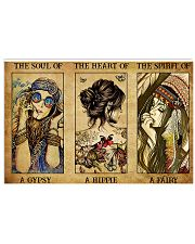 Gypsy Hippie Fairy 17x11 Poster front