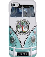 Every Little Thing Is Gonna Be Alright - VW Bus Phone Case i-phone-8-case