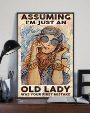 Assuming I'm Just An Old lady 11x17 Poster lifestyle-poster-2