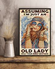 Assuming I'm Just An Old lady 11x17 Poster lifestyle-poster-3