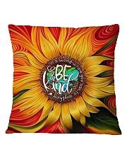 Sunflower Art Square Pillowcase thumbnail