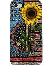 Sunflower - American Flag Phone Case i-phone-8-case