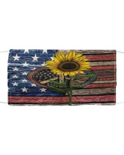 Sunflower American Flag Cloth face mask thumbnail