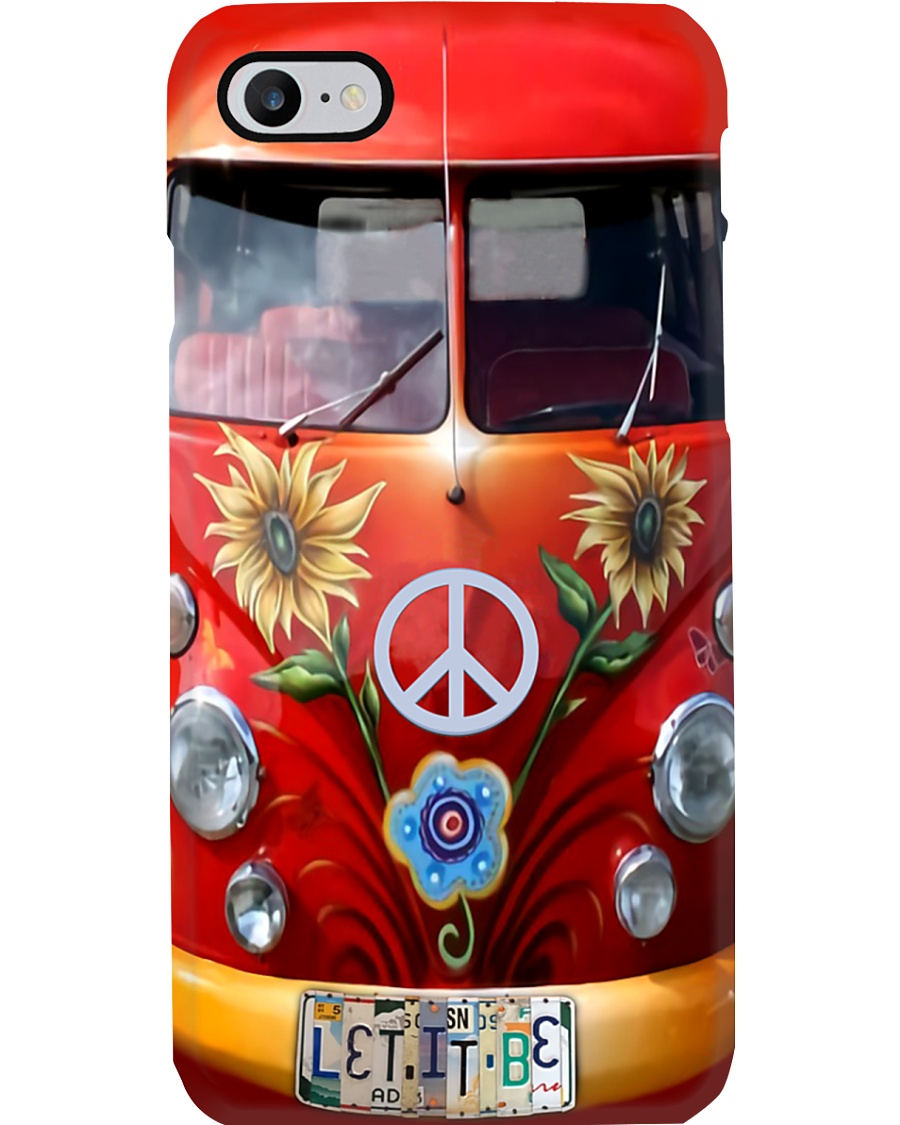 Vw Bus - Let It Be Phone Case