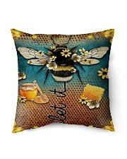 """Let It Bee Indoor Pillow - 16"""" x 16"""" thumbnail"""