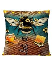 Let It Bee Square Pillowcase thumbnail