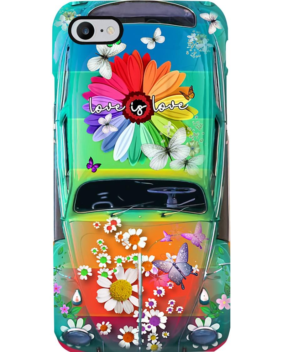 Love Is Love VW Bug Phone Case