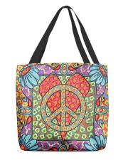 Love Peace All-over Tote front