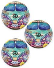 Bus Peace Circle ornament - 3 pieces (porcelain) thumbnail