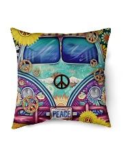 """Bus Peace Indoor Pillow - 16"""" x 16"""" thumbnail"""