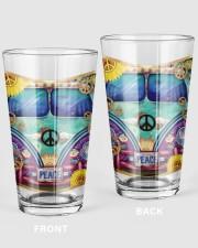Bus Peace 16oz Pint Glass thumbnail