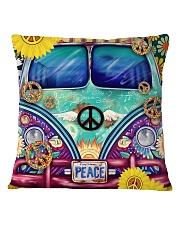 Bus Peace Square Pillowcase thumbnail