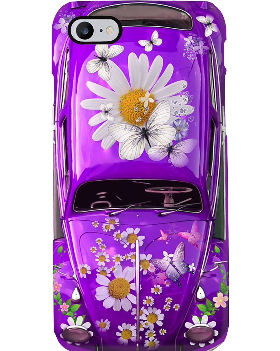 Butterfly VW Bug Phone Case