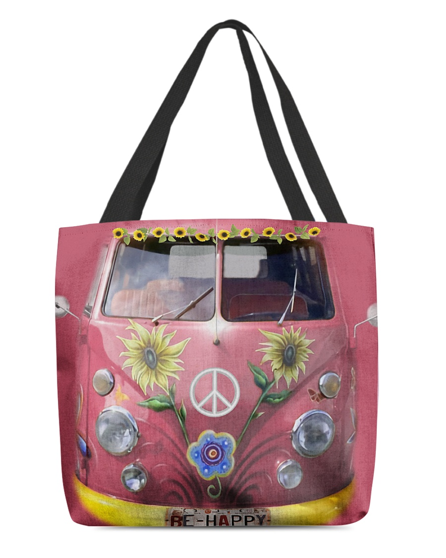 Hippie VW Bug All-over Tote