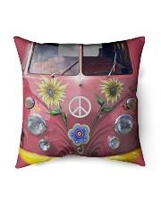 "Hippie VW Bug Indoor Pillow - 16"" x 16"" thumbnail"