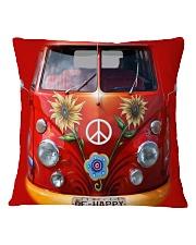 Be Happy Square Pillowcase thumbnail