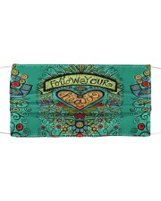 Flower Your Heart Cloth face mask front