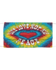 Make Love Not War Cloth face mask thumbnail