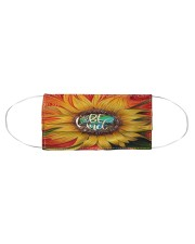 Sunflower Cloth face mask aos-face-mask-coverlet-lifestyle-front-01
