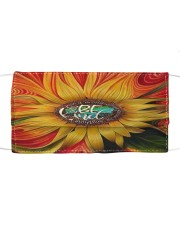 Sunflower Cloth face mask front